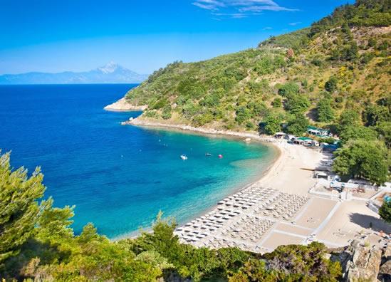 Plaže Sitonija